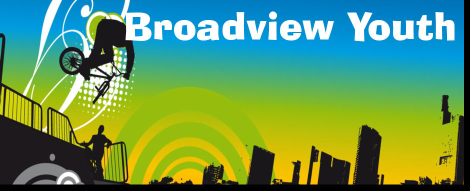 Broadivew Youth Website Banner